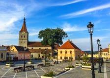 Viaje Rasnov, Brasov Foto de archivo libre de regalías