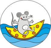 Viaje-ratón ilustración del vector