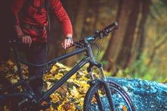 Viaje recreativo de la bici fotos de archivo