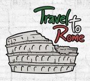 Viaje a Roma Foto de archivo