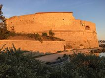 Viaje Royale, fortaleza en Toulon, Francia Foto de archivo