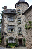 Viaje Saint Laurent del La en Segur-le-castillo francés Imagen de archivo libre de regalías