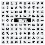 Viaje y señales Fotografía de archivo