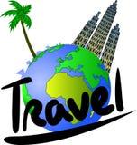 Viaje y turismo libre illustration