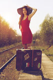 Viajero Foto de archivo