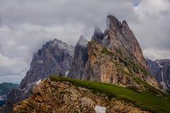 Viajero de la montaña fotos de archivo