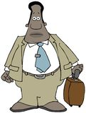 Viajero de negocios étnico Imagen de archivo