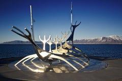 Viajero de Reykjavik - de Sun Fotografía de archivo libre de regalías
