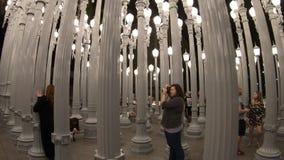 Viajero en Los Angeles almacen de metraje de vídeo