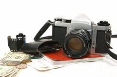 Viajero sazonado Imágenes de archivo libres de regalías