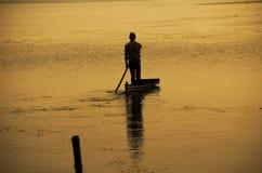 Viajero solitario Imagen de archivo libre de regalías