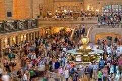 Viajeros de Grand Central Foto de archivo