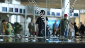 Viajeros del aeropuerto metrajes