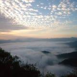 Viajes de la montaña imagen de archivo