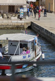 Viajes del barco imagen de archivo libre de regalías