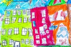 Viajes para los grupos de dibujos de los niños de la ciudad Járkov Fotografía de archivo libre de regalías