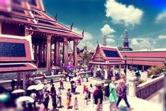 Viajes y aventuras exóticos Viaje de Tailandia Buda y señales Foto de archivo