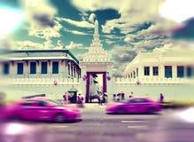 Viajes y aventuras exóticos Viaje de Tailandia Buda y señales Foto de archivo libre de regalías