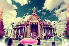 Viajes y aventuras exóticos Viaje de Tailandia Buda y señales Fotos de archivo