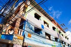 Viajes y aventuras exóticos Viaje de Tailandia Casas de Phuket Foto de archivo