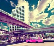 Viajes y aventuras exóticos Viaje de Tailandia Ciudad de Bangkok Imágenes de archivo libres de regalías