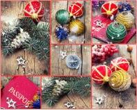 Viajes y excursiones de la Navidad Foto de archivo libre de regalías