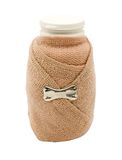 Vial wrapped with ace bandage Royalty Free Stock Images