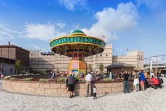Vialand park tematyczny Zdjęcia Stock