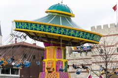Vialand rozrywki o temacie park rozrywki Obraz Stock