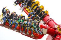 Vialand rozrywki o temacie park rozrywki Zdjęcie Royalty Free