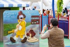 Vialand rozrywki o temacie park rozrywki Zdjęcie Stock