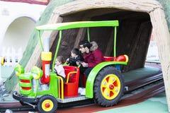 Vialand rozrywki o temacie park rozrywki Fotografia Royalty Free