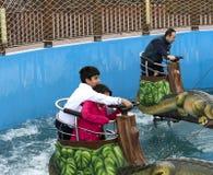 Vialand themed entertainment amusement park Royalty Free Stock Photo