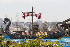 Vialand themed entertainment amusement park. ISTANBUL, TURKEY - 8 APRIL , 2017: Vialand themed entertainment amusement park Royalty Free Stock Photography