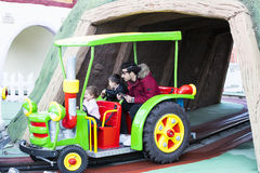 Vialand themed entertainment amusement park Royalty Free Stock Photography