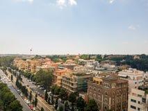 Viale Aventino i Rome royaltyfri foto