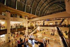Viale degli emirati Fotografie Stock Libere da Diritti
