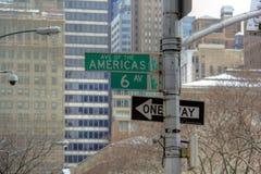 Viale dei Americas Fotografie Stock