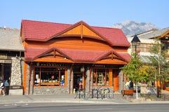 Viale del Banff Immagine Stock