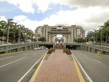 Viale del Bolivar, Bolivar di Avenida, Caracas, Venezuela fotografie stock libere da diritti