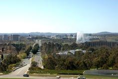 Viale del commonwealth - Canberra Immagini Stock