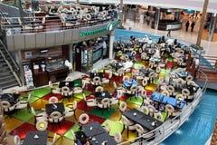 Viale del porticciolo nell'Abu Dhabi Immagine Stock Libera da Diritti