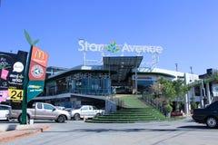 Viale della stella, centro commerciale di stile di vita Immagini Stock Libere da Diritti