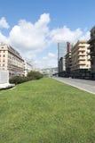 Viale delle Brigate Partigiane, Genova Fotografia Royalty Free