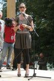 Viale delle stelle Cracovia RMF FM Fotografia Stock Libera da Diritti