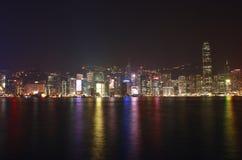 Viale delle stelle, kong di Tsim Sha Tsui Hong Fotografia Stock