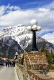 Viale di Banff Immagini Stock