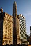 Viale di N Michigan, Chicago Fotografia Stock Libera da Diritti