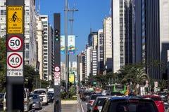 Viale di Paulista Fotografia Stock