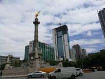 Viale di Reforma fotografie stock libere da diritti